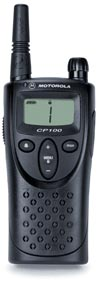 The Motorola CP100 15 channel GMRS Radio